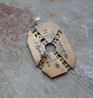 Exploded Watch Face Pendant by AMechanicalMind
