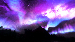 Skyrim Nightsky by MP-Celestial