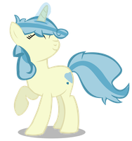 COMMISSION - SunnyQueenie is happy by BigDream64