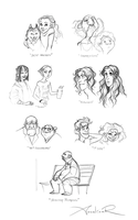Faces by ancalinar