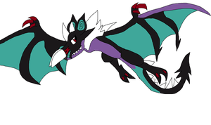 Spike Noivern form by fossil-fighter