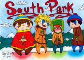 South Park Cuties ~Enhanced~ by edenfire57