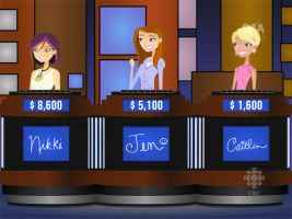 6TEEN on Jeopardy--REMAKE by daanton