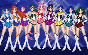 Cosmic Senshi by SaturnsRevolution
