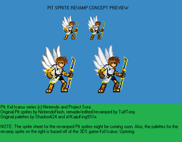 .:New Pit Sprite Revamp Preview:. by TuffTony