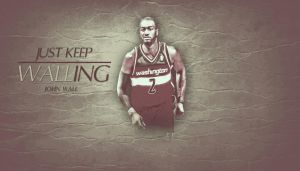 John Wall Just Keep Walling by assasinsilent