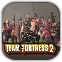Team Fortress 2 Game Icon by Wolfangraul