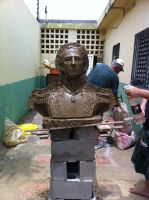 Jose Tadeo Monagas bust by Fabreeze