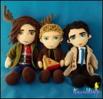 Team Free Will by threadlingzz
