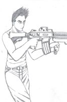 Kyle, Armed and Dangerous by cpi
