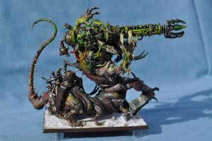 Clan Skrye Hellpit Abomination Cannon by Solomon-Mordecai