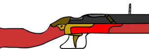 Red Victory Rifle by Alozec