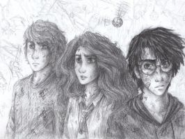 Harry Potter Doodle - Add On by AlexandriaMonik