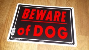 GermaBeware of dog sign by Akitas237collections