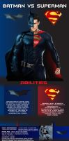 Batman VS Superman by kanferg24