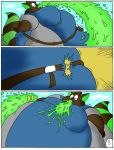 Slime attack page 3 by Robot001
