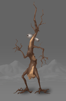 Walking stick by metalpiss
