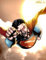 Superman got angry by xXNightblade08Xx
