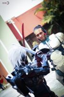 Metal Gear Rising: Revengeance by DraconPhotography