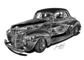 Black Ford by Lowrider-Girl