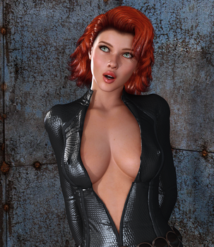 BLACK WIDOW: Lesson #1 - Luring the enemy by Furbs3D