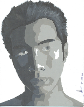 Self Portrait - Painted by Age-Solo