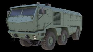 Kamaz Typhoon model by darth-biomech