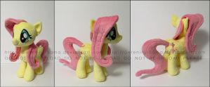 Plushie: Fluttershy 3.0 - My Little Pony: FiM by Serenity-Sama