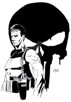 Thomas Jane as The Punisher by StevenWilcox