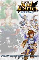 Kid Icarus: Uprising Fan Poster by KamenRiderReaper