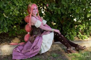 Steampunk Adventure Time Princess Bubblegum by becatron