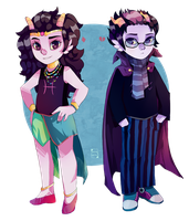 Feferi/Eridan by Blue-Space-Muffin