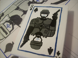 Robocop of Spades by randomproxy
