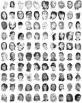 100 Portrait Sketches by tranmonster