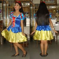 Me in Snow White costume for Disneyland by Magic-Kristina-KW