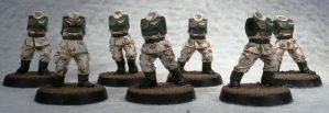 WIP Imperial Guard by Elmo9141