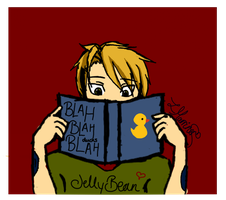 Winter Challenge- Day 4: Books - Jellal by xBeyondTheGalaxies