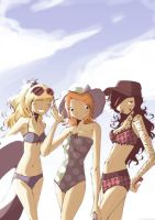 Summer here kids. by Nicohitoride