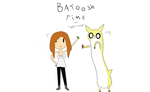 Batoosh Time (tiffany the human micayla the deer) by XxJesterpaintxX