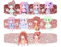 [CLOSED] 100 POINTS ADOPTABLE [AUCTION] by RoseSense