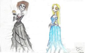 Mrs. Lovett and Johanna by Emily89