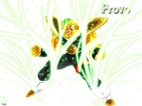 Provo powering up (alternate) by SSJEpic