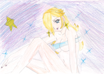 Princess Rosalina in the Galaxy *-* by PeachyEstela