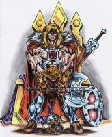 King He-man of Grayskull by danbrenus
