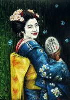 Butterfly Geisha by VforVieslav
