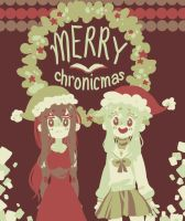 merry chronicmas!!!! by jessilvania