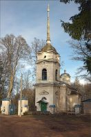 Cemetery church by NikolaiMalykh