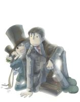 professor layton international by PAPAWS