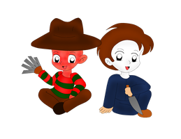 Freddy and Michael by ChickTristen94