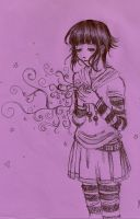 Hinata- The magic within by InvaderVal
